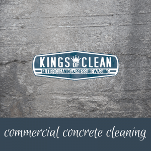 Commercial Concrete Cleaning