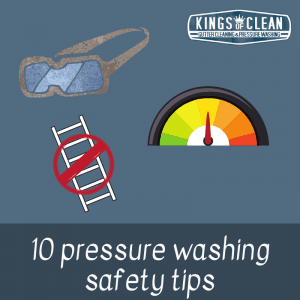 10 Pressure Washing Safety Tips