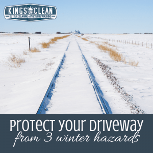 Protect Your Driveway from 3 Winter Hazards