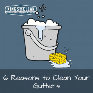 6 Reasons to Clean Your Gutters
