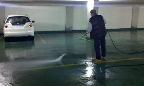 How To Remove Oil Stains On Your Parking Lot Kings Of Clean