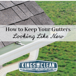 How to Keep Your Gutters Looking Like New