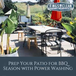 Prep Your Patio for BBQ Season with Power Washing
