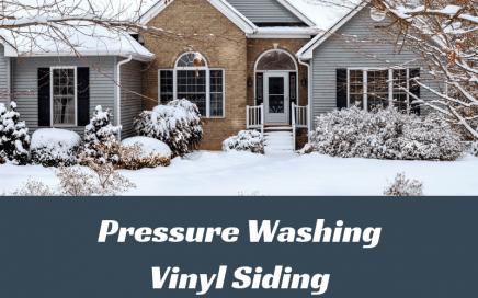 Pressure Washing Vinyl Siding