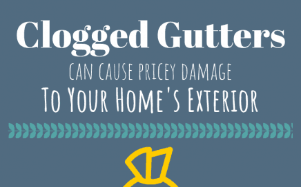 Clogged Gutters can Cause Pricey Damage to Your Home's Exterior