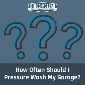 How Often Should I Pressure Wash My Garage?