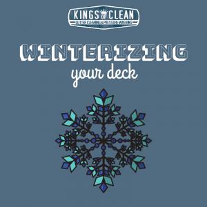 Winterizing Your Deck