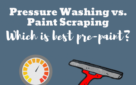 Pressure Washing vs. Paint Scraping: Which is Best Pre-Paint?