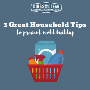 Three Great Household Tips to Prevent Mold Buildup