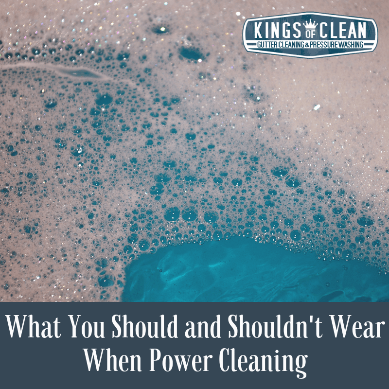 What You Should And Shouldn T Wear When Power Cleaning