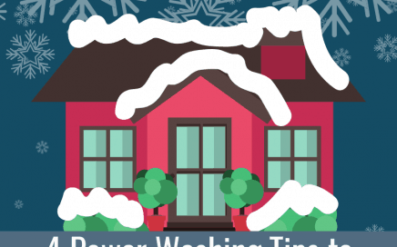 4 Power Washing Tips to Prepare for the Holidays