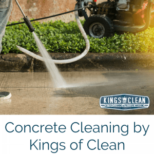Concrete Cleaning by Kings of Clean