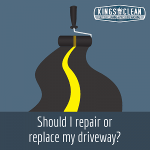 Should I Repair or Replace my Driveway?