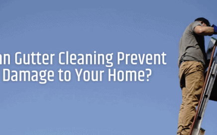 Can Gutter Cleaning Prevent Damage to home?