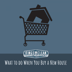 What to do When You Buy a New House