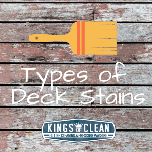 Several Types of Deck Stains