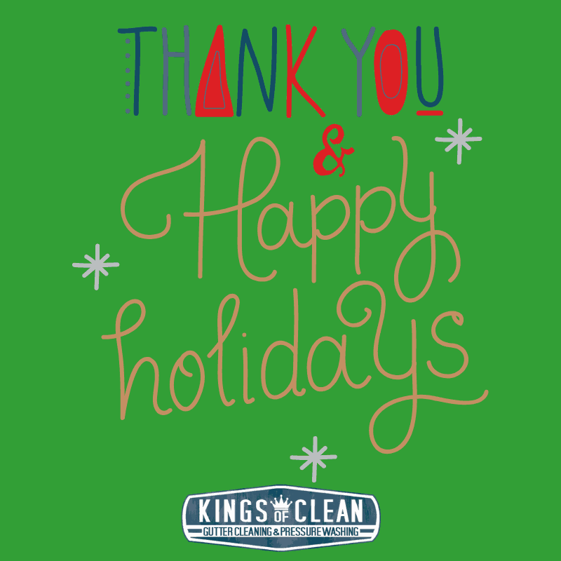 Thank You & Happy Holidays from Kings of Clean
