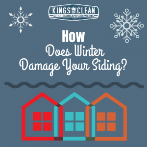 How Does Winter Damage Your Siding