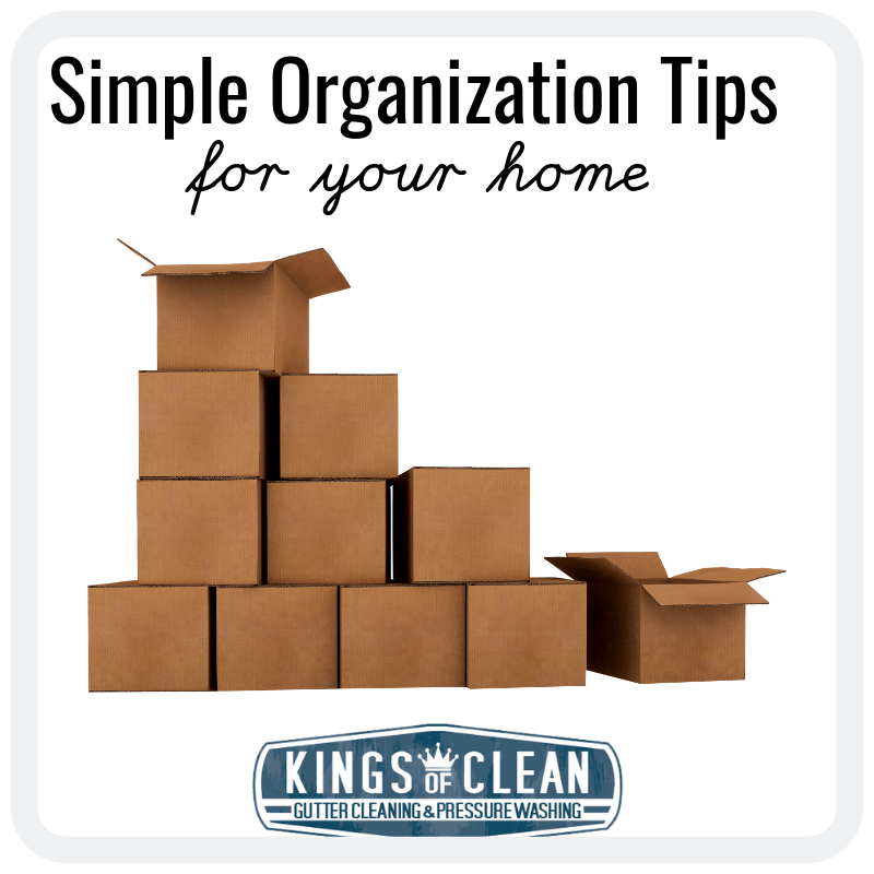 Simple Organization Tips for Your Home