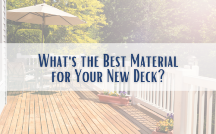 Best Material for New Deck