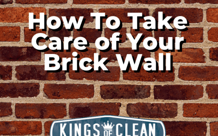 How To Take Care of Your Brick Wall