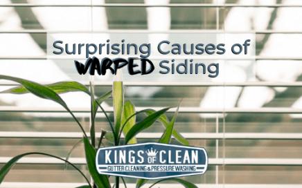 Surprising Causes of Warped Siding