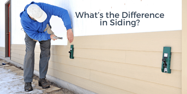 What's the difference in siding?