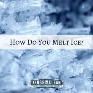 How Do You Melt Ice